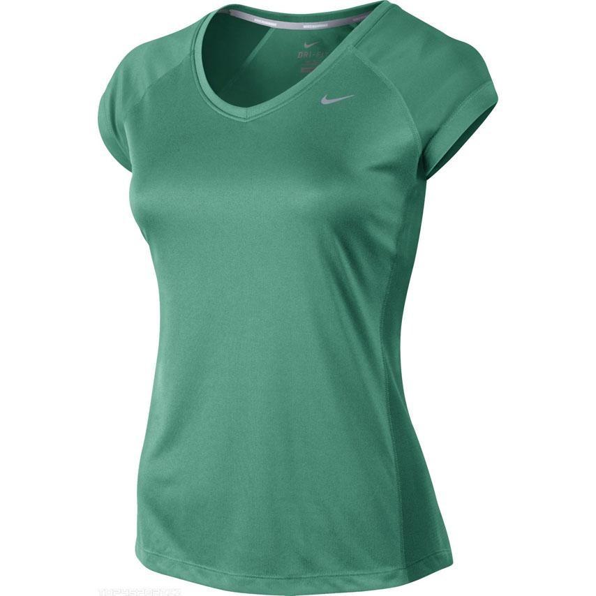 Nike MILER SS V NECK TOP