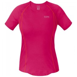Mujer GORE RUNNING WEAR Essential Base Layer Windstopper Lady Camiseta Cuello Alto
