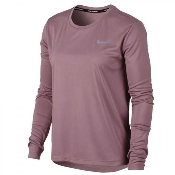 Nike MILER TOP LS MUJER