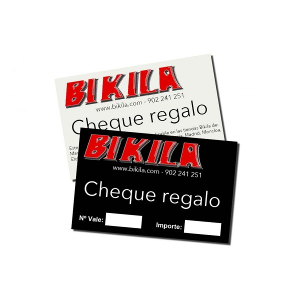 Bikila CHEQUE REGALO 50 EUROS