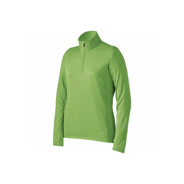 Brooks-ESSENTIAL LS 1/2 ZIP W BRO220486325