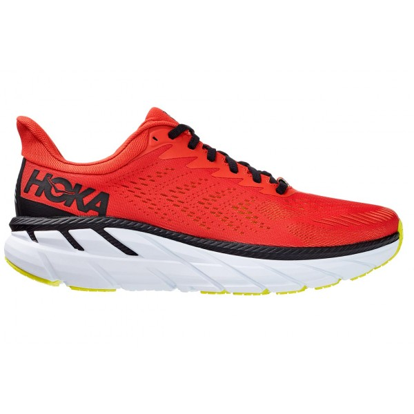 Hoka One One-clifton 7 10 Rojo - Neutras