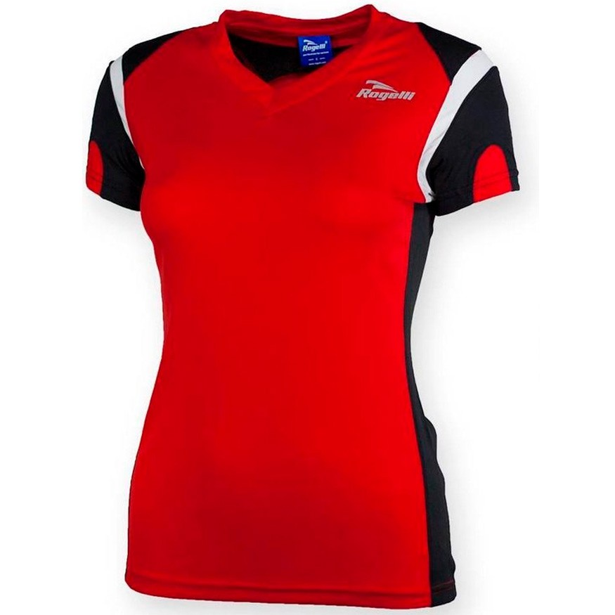 Rogelli-EABEL RUNNING TEE SS MUJER