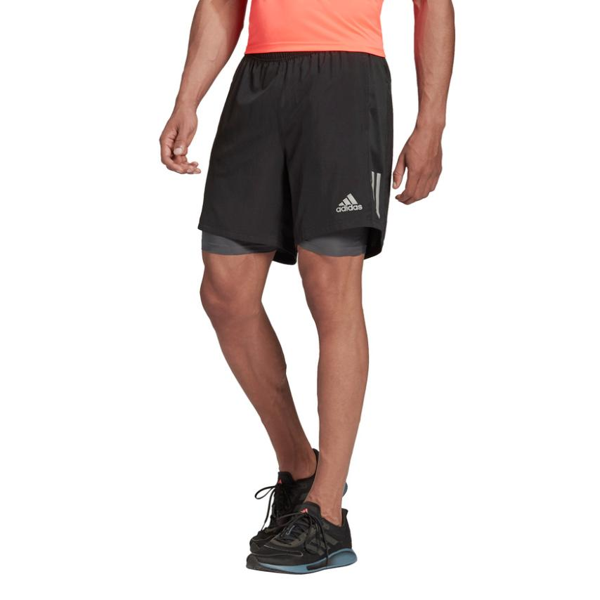 Adidas-OWN THE RUN 2IN1 SHORT