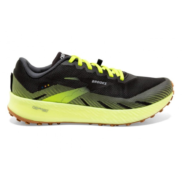 Brooks-catamount 10 Negro - Zapatillas Trail