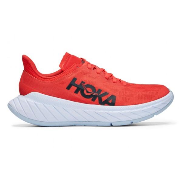 Hoka One One-carbon X 2 10 Rojo - Zapatillas Running