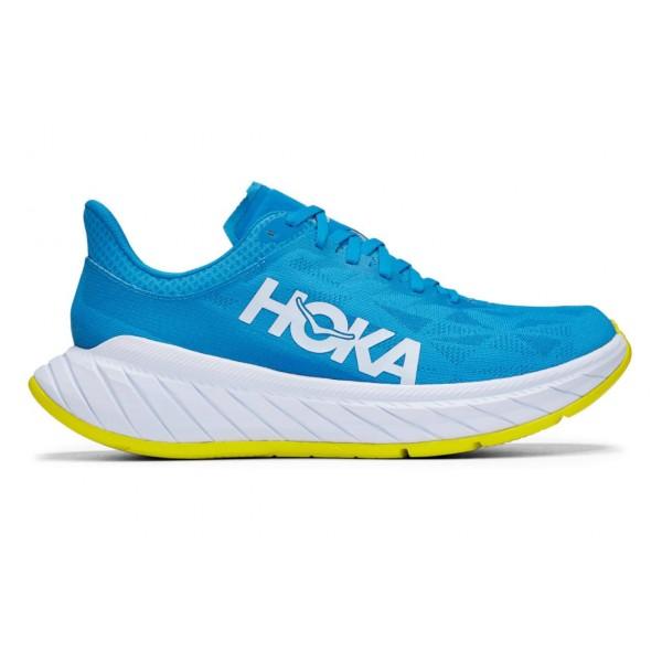 Hoka One One-carbon X 2 10 Azul - Zapatillas Running