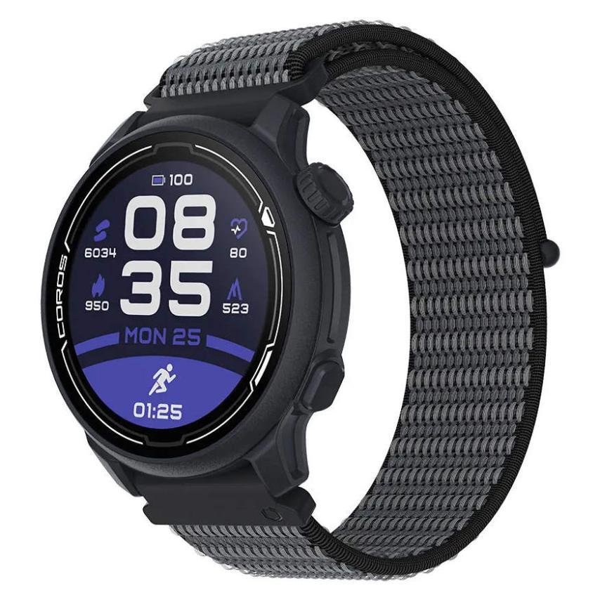 Coros-PACE 2 PREMIUM GPS NYLON CORWPACE2-NVY-N