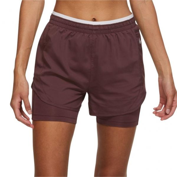 Nike-TEMPO LUXE 2IN1 SHORT MUJER