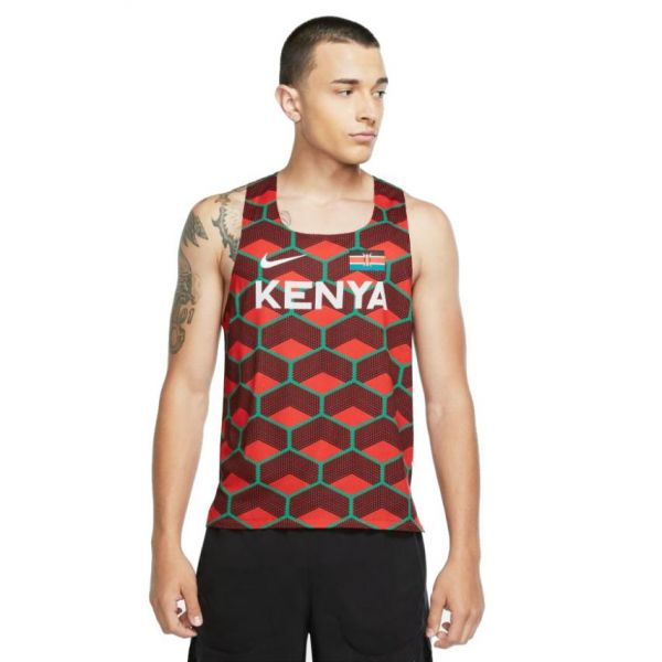 Nike-AEROSWIFT KENYA SINGLET