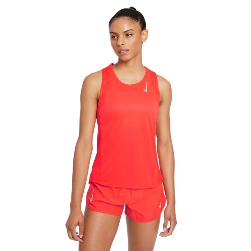 Nike-RACE SINGLET MUJER