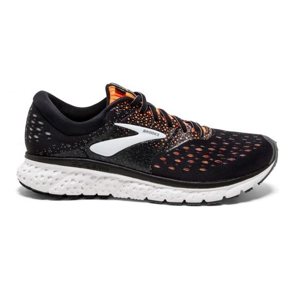 Brooks Glycerin 16 2e 8 Negro Y Plomo - Zapatillas Running