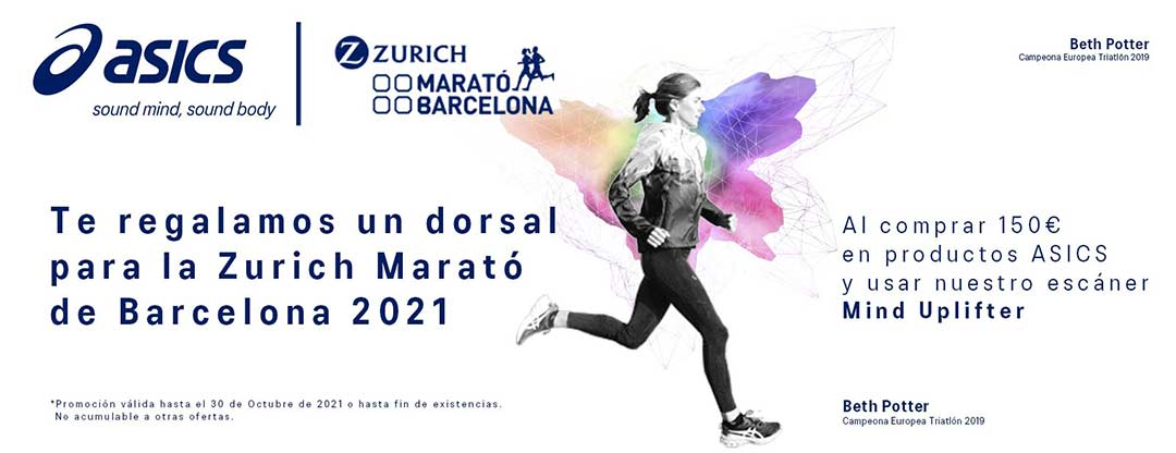 Promoción Asics Marató barcelona